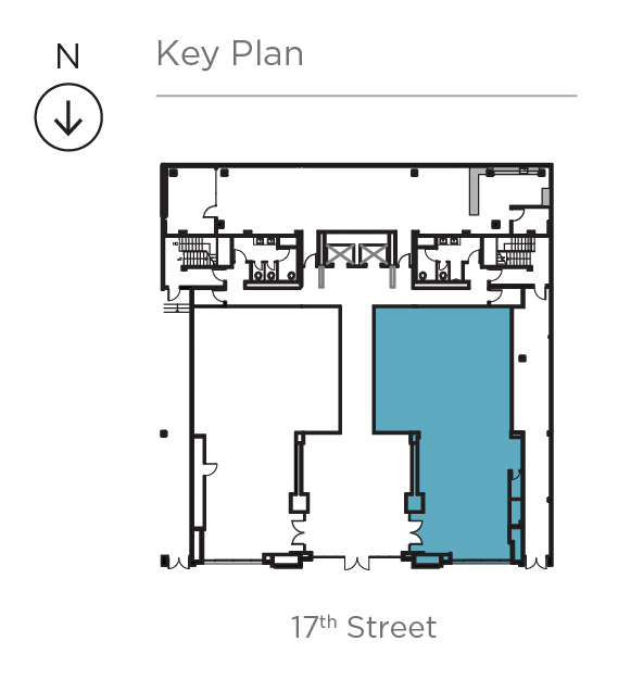 Key plan for Suite 110