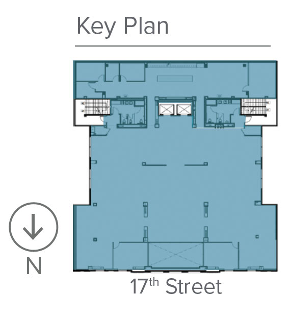 Key plan for Suite 200