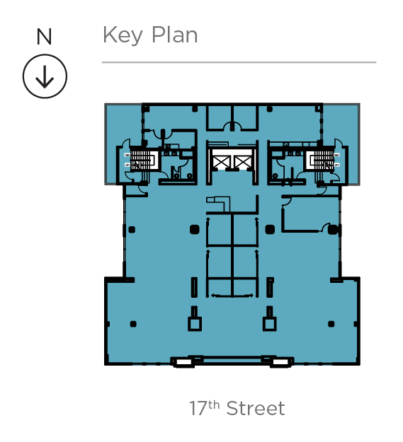 Key plan for Suite 300