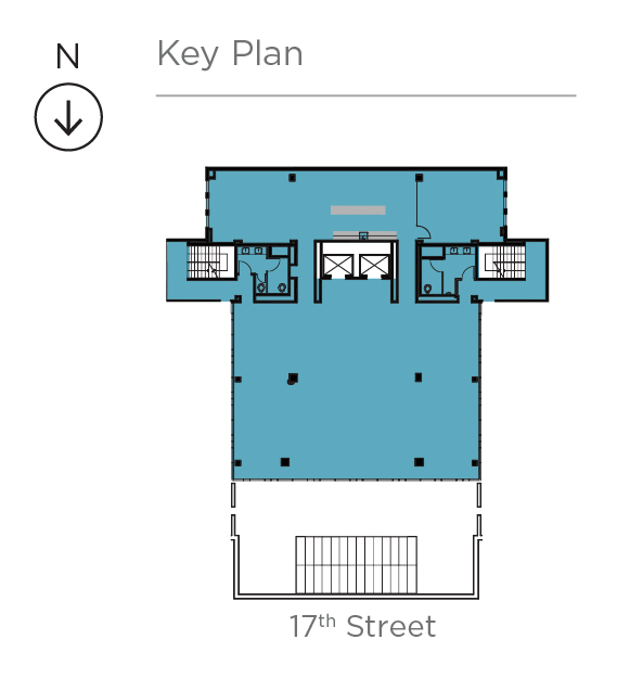 Key plan for Suite 600